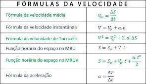 resumo diferenciando o movimento retilíneo uniforme do movimento uniformemente variado descrevendo o